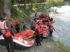 Evento Team Building Rafting in Austria