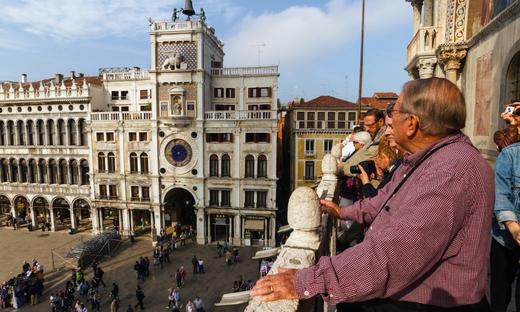 La celebre Venezia: Basilica di San Marco, Terrazza e Palazzo Ducale ...